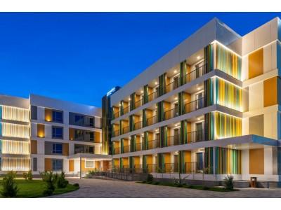 Отель Джамайка | Анапа| внешний вид, территория