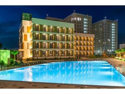 Отель Джамайка | Анапа | внешний вид, территория